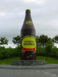 The Giant L & P bottle in Paeroa