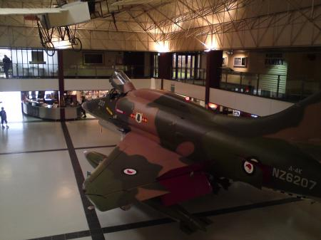 New Zealand Air Force Museum, Wigram, Christchurch, Entrance