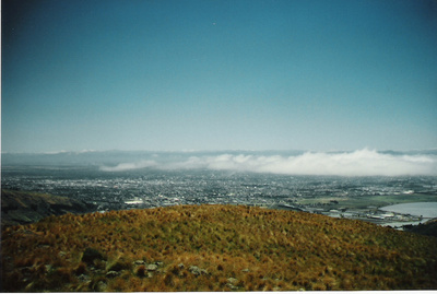 Christchurch from the Port Hills